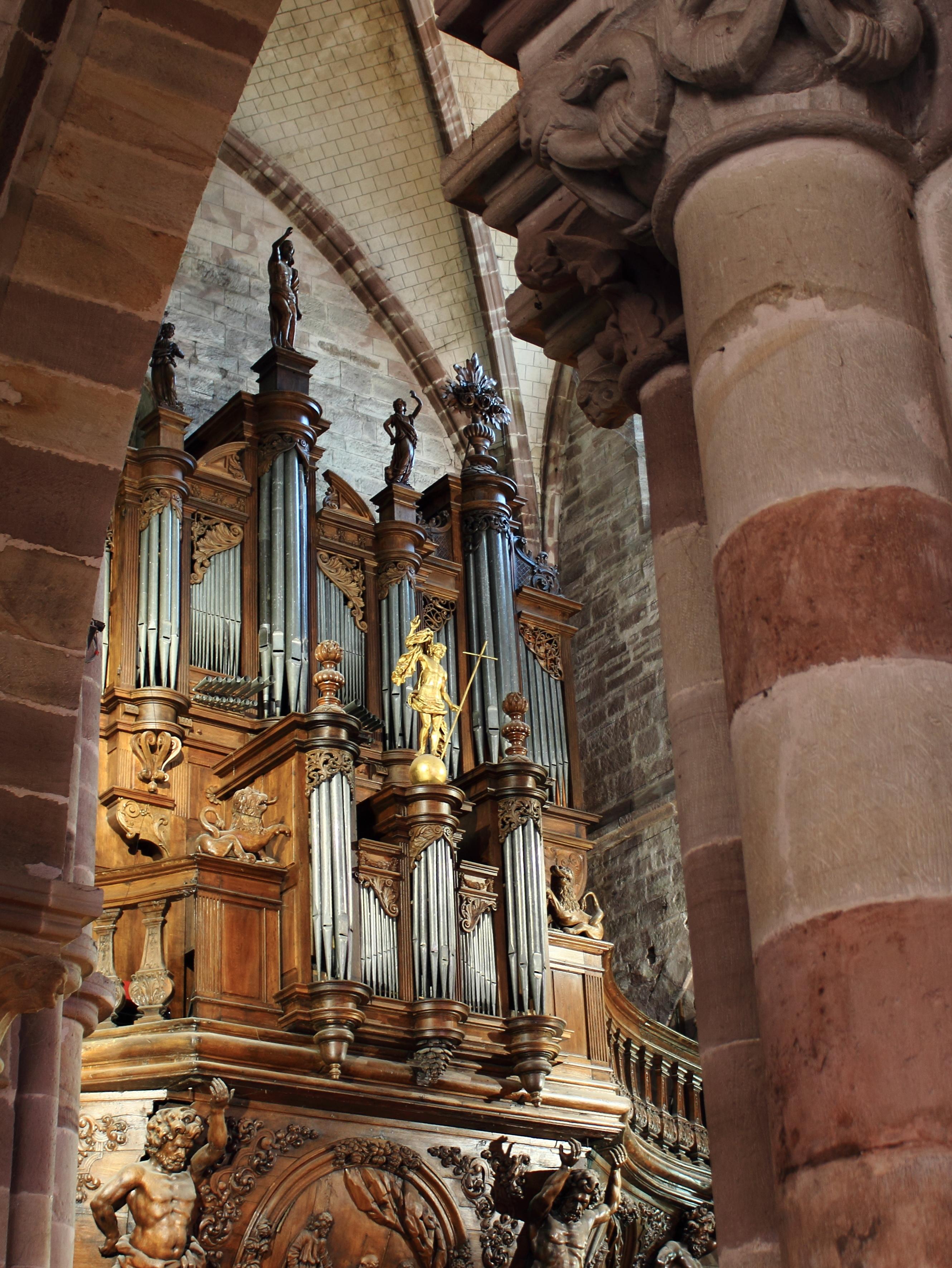 L'orgue de Luxeuil-les-Bains